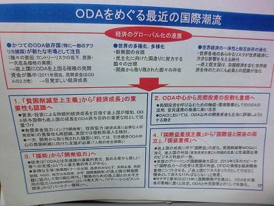 「ODAの理念・歴史と現状」