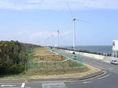 ウィンド・パワーかみす洋上発電所