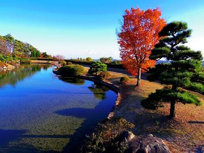神石高原ホテルの日本庭園