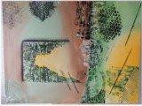 Gemälde Stoned von kooZal - Acrylbilder und Collagen Mischtechniken