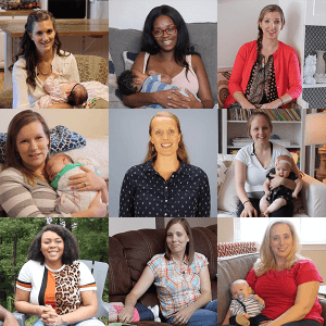 Postpartum Care Class 8 moms and Katie Griffin