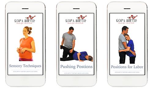 Kopa Birth Partner Labor Guides