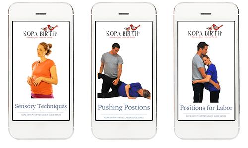 Kopa Birth® Partner Labor Guides, Online Childbirth Class Essentials Package