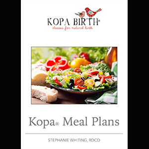 Kopa Birth Meal Plans, Online Childbirth Class Essentials Package