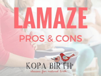 LAMAZE PROS AND CONS