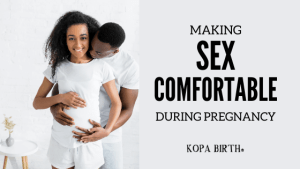 Making sex comfortable during pregnancy - Image