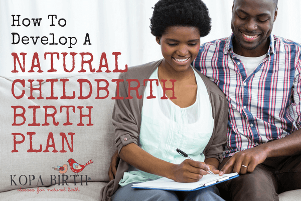 Natural Childbirth Kit - Birth Plan