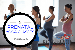 PRENATAL YOGA ORANGE COUNTY