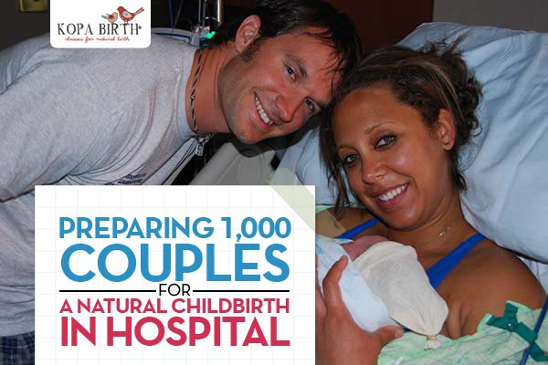 Preparing 1000 couples for natural childbirth in hospital