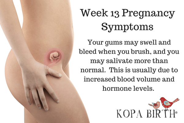 Week 13 Pregnancy Symptoms