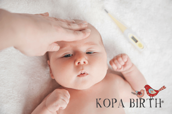 What is considered a fever for a baby