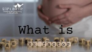 What is Rhesus Factor?