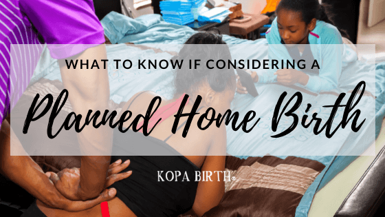 What to know if considering a planned home birth - image
