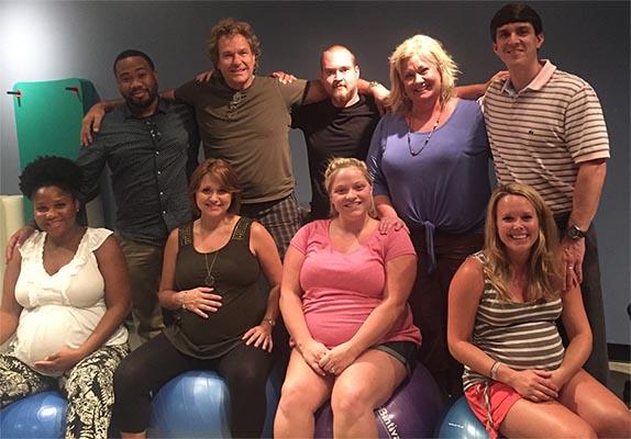 Alisha and Shawn natural childbirth with Kopa Birth online birthing classes