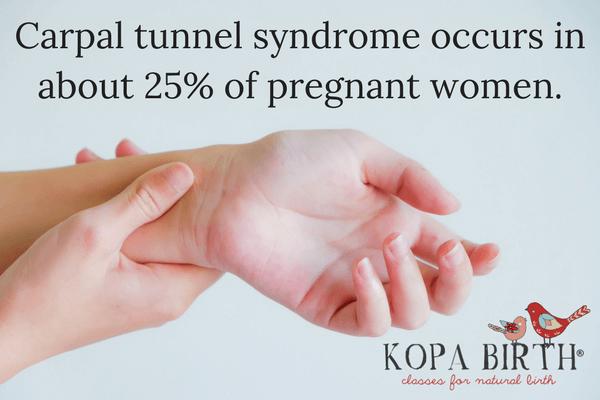 week 30 pregnancy symptoms carpal tunnel