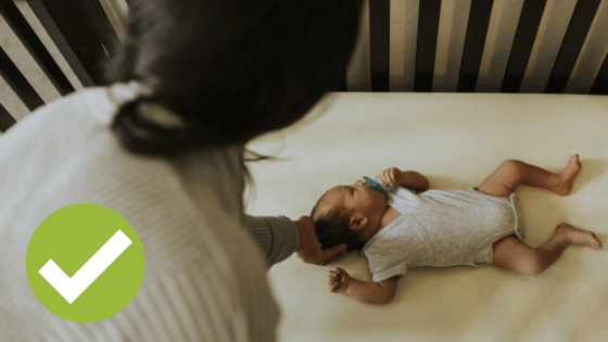 what to newborns sleep in - newborn sleep area dos
