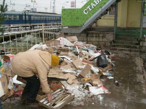 Сергиев Посад Борьба с мусором