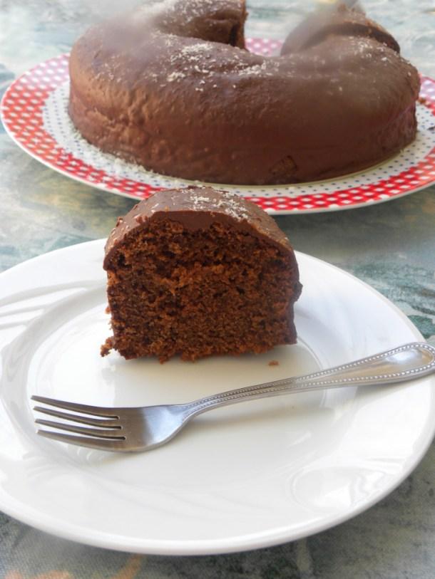 Νηστίσιμο Σοκολατένιο Κέικ εικόνα