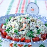 Λαχανοσαλάτα με Ρόδι και Ξηρούς Καρπούς