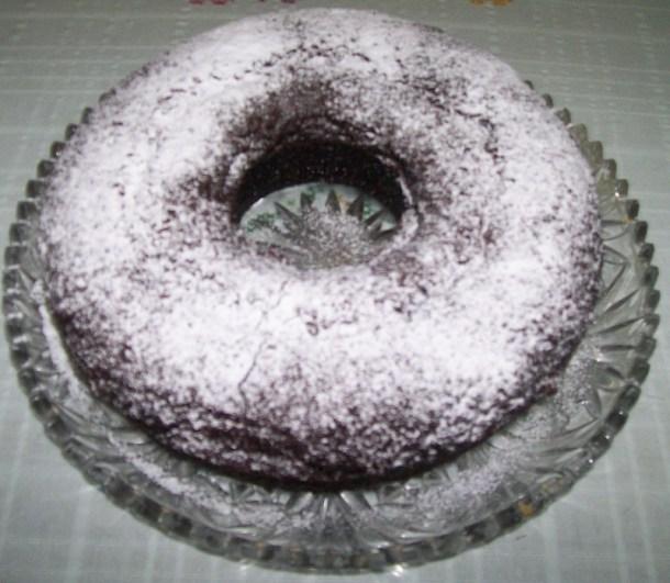 Νηστίσιμο Κέικ Σοκολάτας με άχνη εικόνα