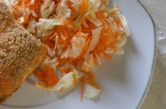 σαλάτα λάχανο καρότο εικόνα