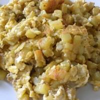 Πατάτες με Αυγά