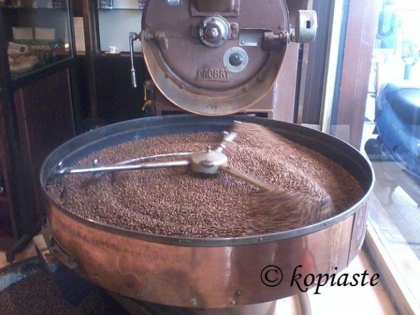 καβουρδισμένος καφές