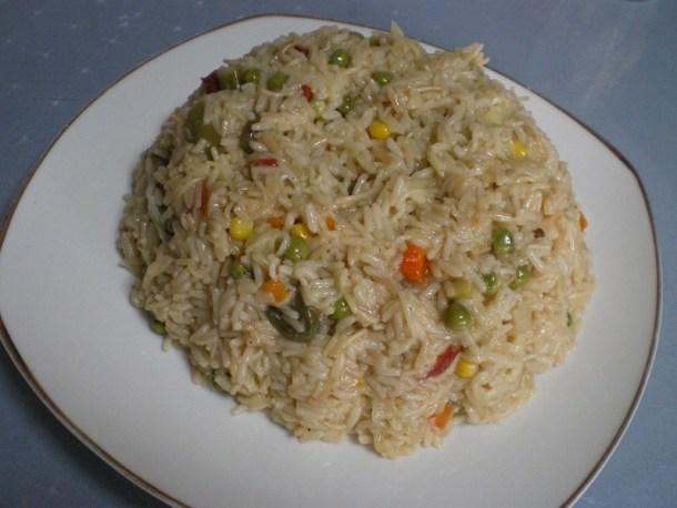 ρύζι με λαχανικά εικόνα