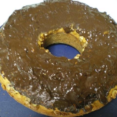 Κέικ Καρότου Νηστίσιμο με Σοκολάτα