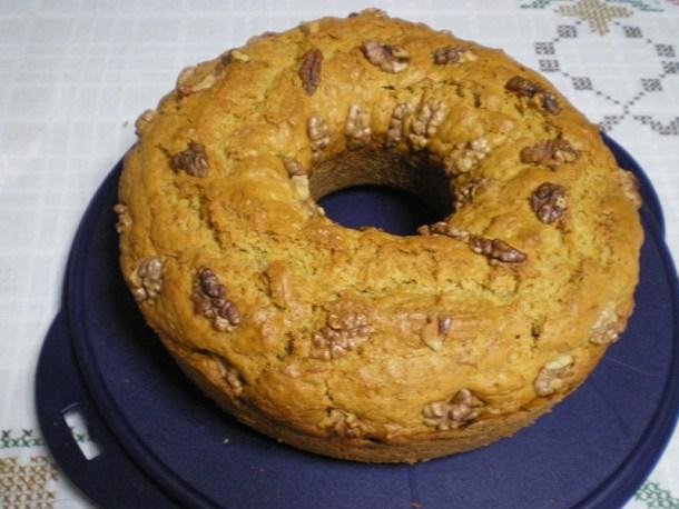 Κέικ καρότου με καρύδια εικόνα