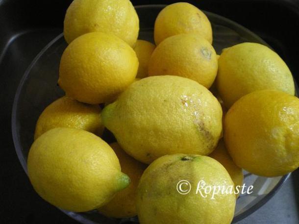 λεμόνια για λεμονάδα