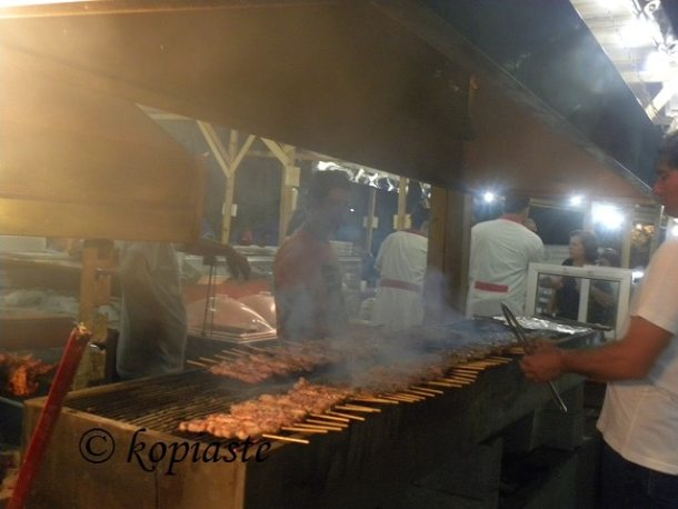 Souvlakia at panigyri