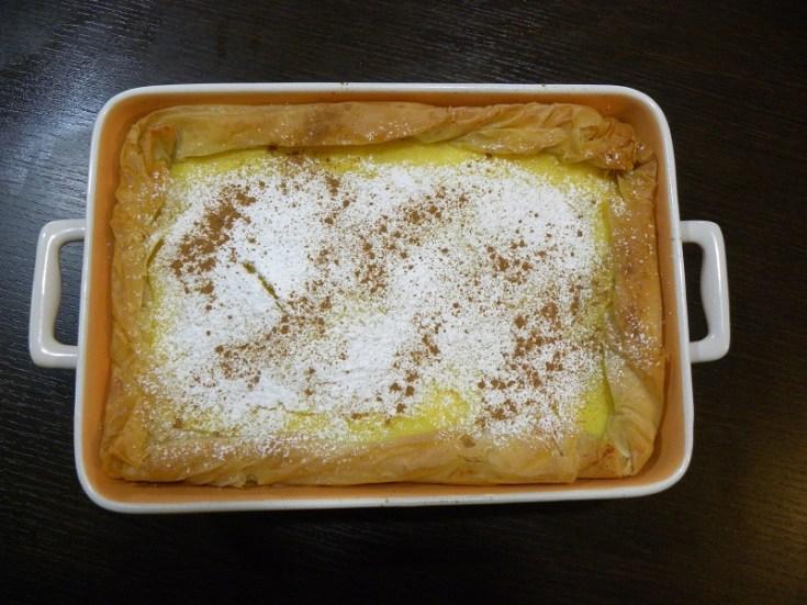 Γαλατόπιτα με Φύλλο