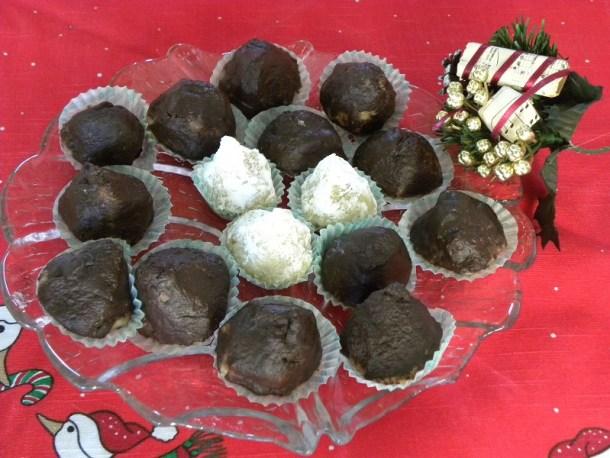 αμυγδαλωτά με σοκολάτα εικόνα