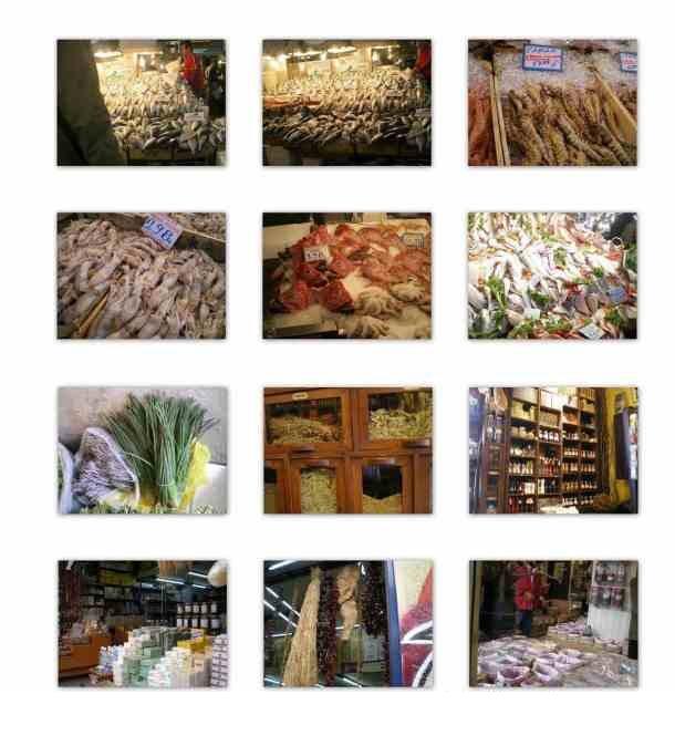 Κολάζ Βαρβάκειος αγορά φωτογραφία