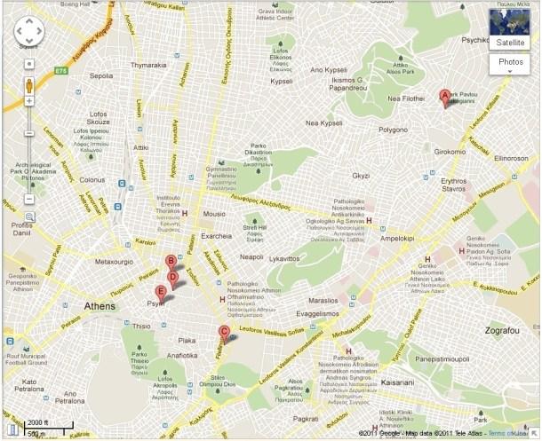 Χάρτης Αθηνών, Βαρβάκειος εικόνα