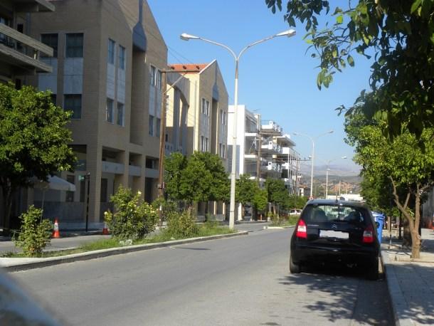 Η οδός Λυκούργου στη Σπάρτη εικόνα