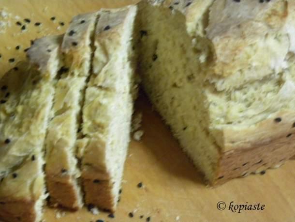 Ψωμί μπύρας σε φέτες