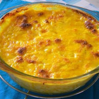Ρυζόγαλο στο φούρνο με Κρόκο Κοζάνης και Λεμόνι
