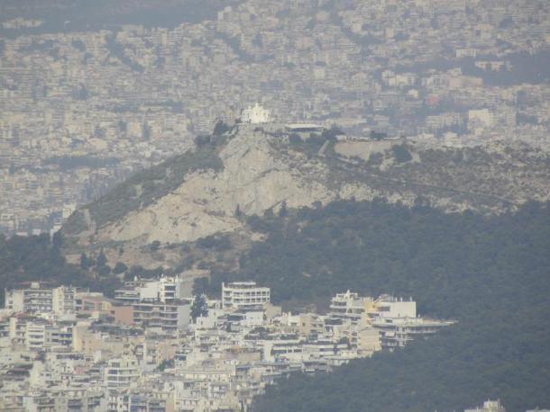 Αθήνα θέα του Λυκαβηττού