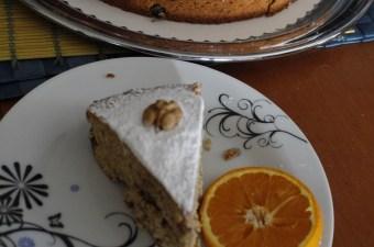 Φανουρόπιτα με πορτοκάλι φωτογραφία