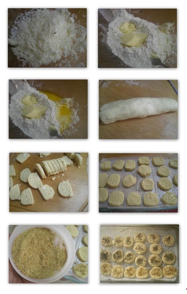 Κολάζ τυρομπισκότα εικόνα