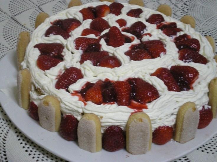Τούρτα με Φράουλες (Torta Fragole)
