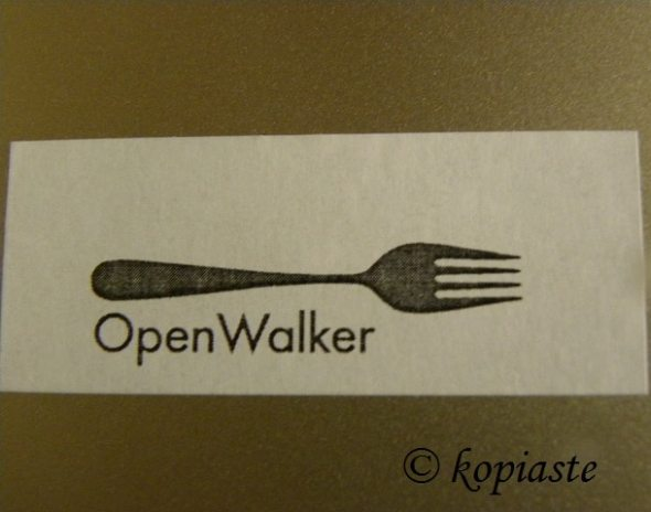 Open walker badge