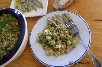 Ρεβίθια σαλάτα εικόνα