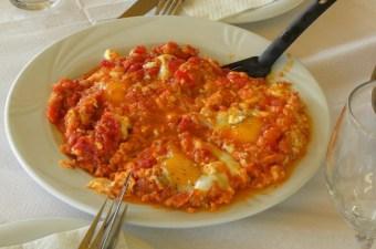 Καγιανάς με αυγά ποσέ εικόνα