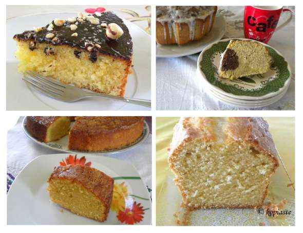 collage cakes
