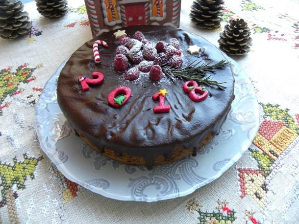 Σοκολατένιο Κέικ Βασιλόπιτα εικόνα