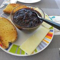Μαρμελάδα Μούρα με Λεβάντα με Μέλι