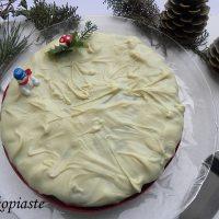 Βασιλόπιτα με Γκραν Μαρνιέ και Γλάσο Λευκής Σοκολάτας